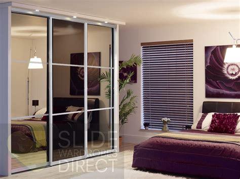 Sliding Wardrobes Uk by Wardrobes Door Mirrored Closet Doors With Wood Inlay Glass Sliding Wardrobe Doors Built In