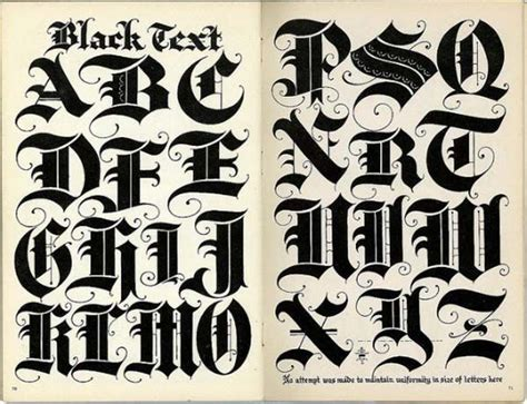 lettering styles alphabet text style letters