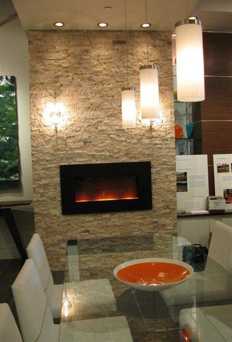 Electric Fireplace Design is this an electric fireplace and if so is it wall mounted