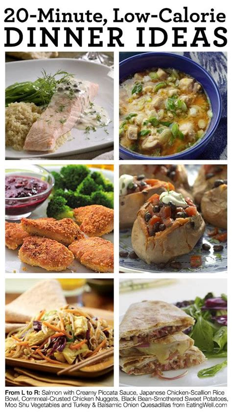 low calorie dinner 31 20 minute low calorie dinner ideas healthy foods