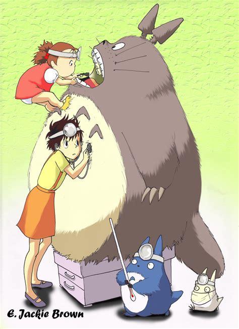 anime check totoro check up by applejaxshii on deviantart