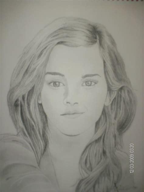 emma watson drawing drawing emma watson fan art 17644260 fanpop