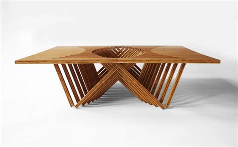 rising table by robert embricqs design
