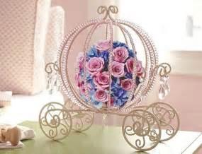 cinderella carriage centerpiece pin by alexandra bibby on disney wedding ideas