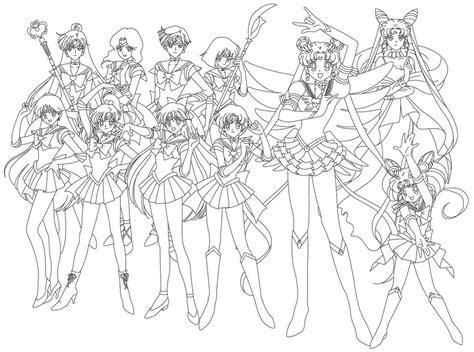 Sailor Group blank by sailor jade iris on DeviantArt