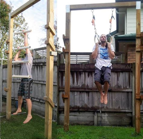 how to do parkour in your backyard back to primal pull up frame