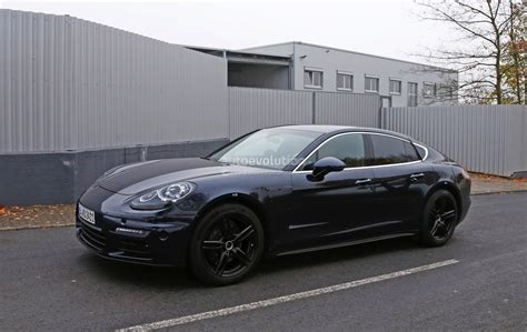 new porsche panamera 2017 2017 porsche panamera spied close to nurburgring testing
