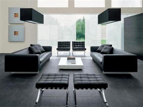 muebles modernos minimalistas salas modernas de piel