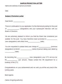 Promotion Cover Letter Template by Fresh Essays Letter For Promotion Employee