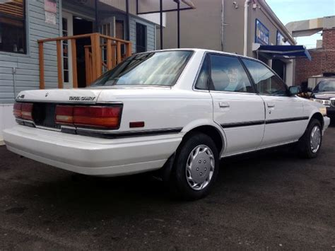 Awd Toyota Camry Picture Of 1991 Toyota Camry Dx Awd