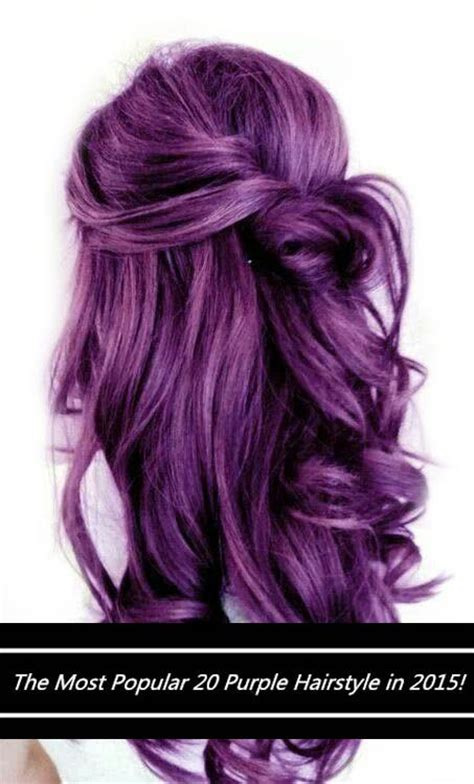 is the hairstyle where you only dye your bottom blond still really in style warning these 20 purple hairstyles will make you want to