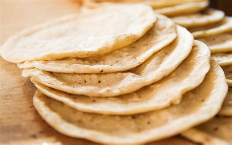 Handmade Corn Tortillas - how to make corn tortillas from scratch in 5 minutes