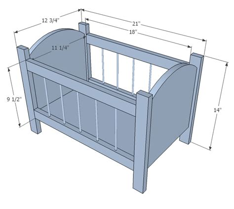 Dimensions Of A Baby Crib White Fancy Baby Doll Crib Diy Projects