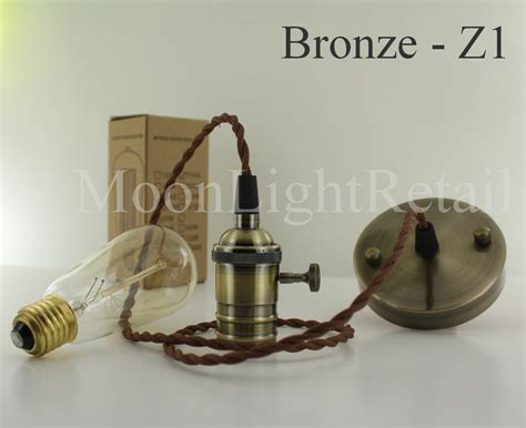 pendant light cord with switch industrial edison vintage pendant light l fabric cord