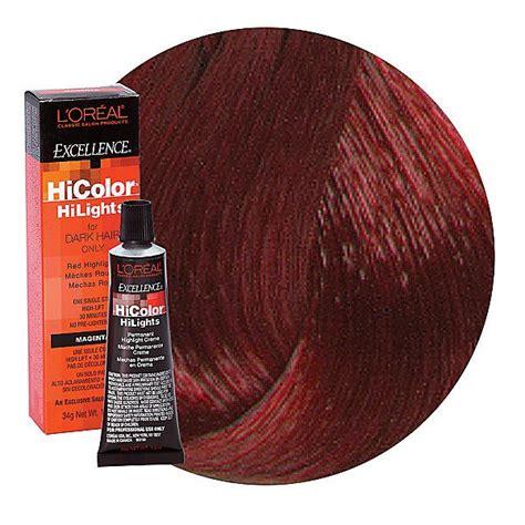 loreal hi color magenta l oreal excellence hicolor magenta