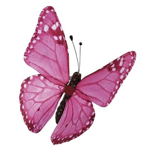 Pink At The by Deko Deko Schmetterling Pink 30 Cm Dekoration Bei