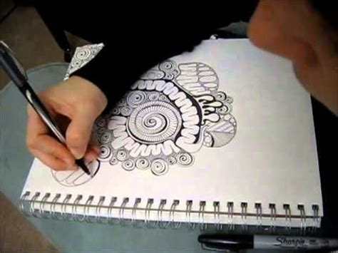tangled doodle art in time lapse coloring videos and 498 best images about zentagles on pinterest more
