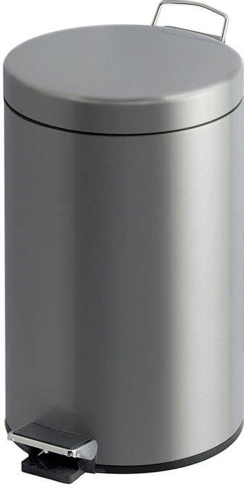 12 liter prullenbak toilet eko pedaalemmer 12 liter kopen frank
