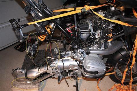 Motorrad Uhr Batterie Wechseln by Luftfilterkasten Tauschen