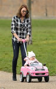Mini Cooper For Baby Tamara Ecclestone Takes For A Spin In