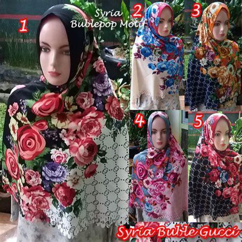 Harga Kerudung Gucci kerudung syria buble gucci 183 sentral grosir jilbab
