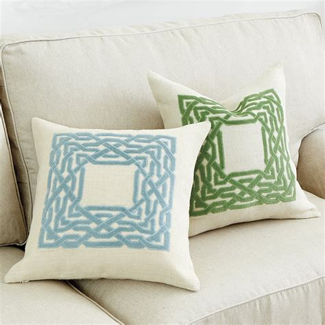 trellis pillow ballard designs