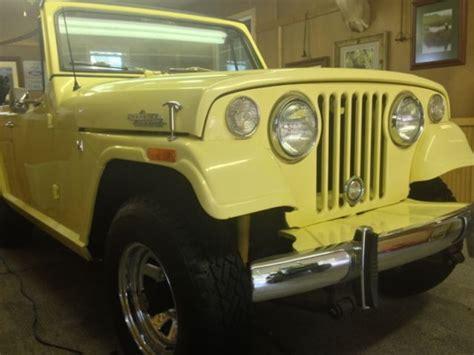 1970 jeep commando for sale 1970 jeep jeepster commando 3 7l