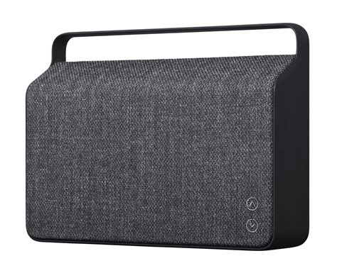 Cloth Bluetooth Speaker copenhague bluetooth speaker bluetooth fabric alu anthracite by vifa