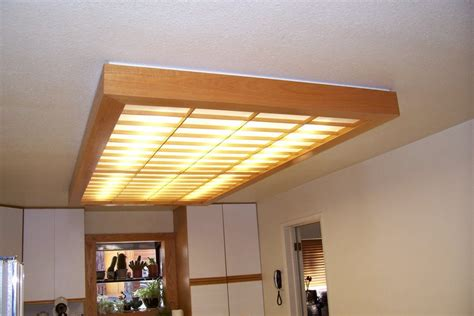 kitchen ceiling light covers ceiling light cover for my kitchen by unknownwoodworker