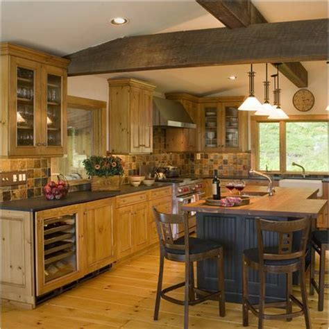 Vermont Kitchen Cabinets casual country rustic kitchen by wendy johnson