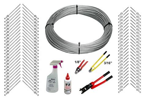 deck cable railing kit 1000ft