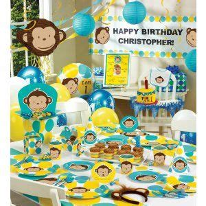Monkey Birthday Decorations by 20 Best Images About Monkey On Mod