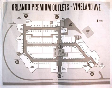outlet mall map orlando premium outlets vineland ave closest outlet mall