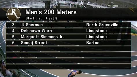 section 8 for men jdl fast track videos men s 200m section 8