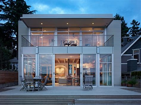 Contemporary Beach House Plans | dream house modern translucent open plan beach house designs