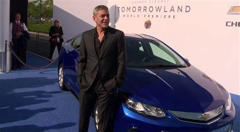 George Clooney To Drive Smart Car by Tomorrowland Premiere Has George Clooney And His