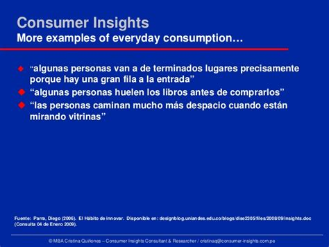 Consumer Insights Mba consumer insights revealing the truths myths