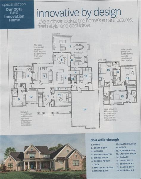 better homes and gardens floor plans 2015 bhg innovation home floor plans with front elevation who wouldn t want to live here
