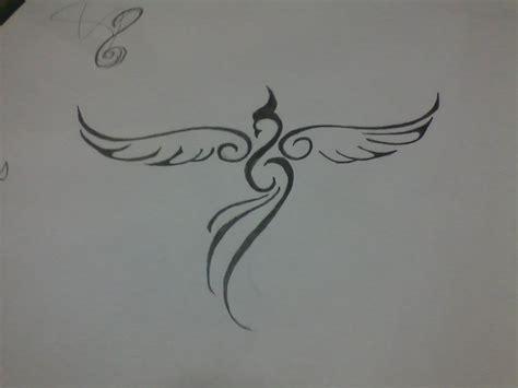 minimalist phoenix tattoo pinterest