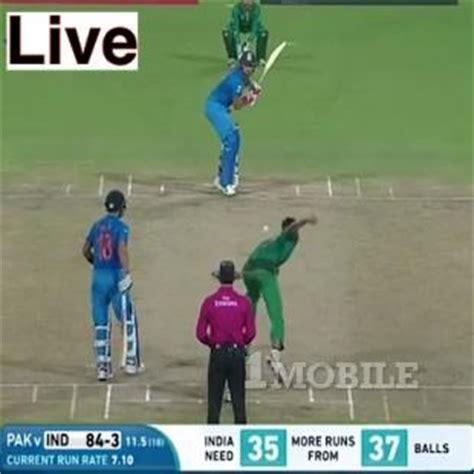 cricket live tv on mobile cricket tv live 1mobile