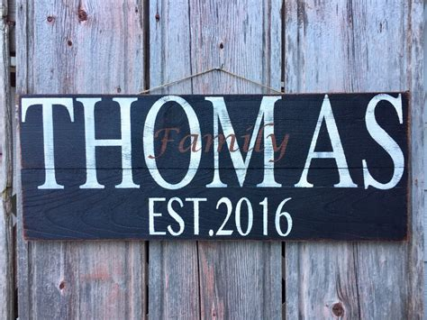 personalized home decor signs personalized family sign home decor signs home wall decor