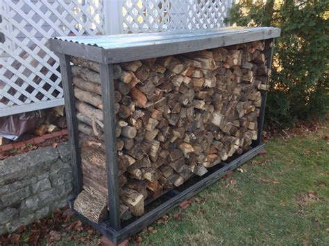 firewood rack ideas  pinterest fire wood