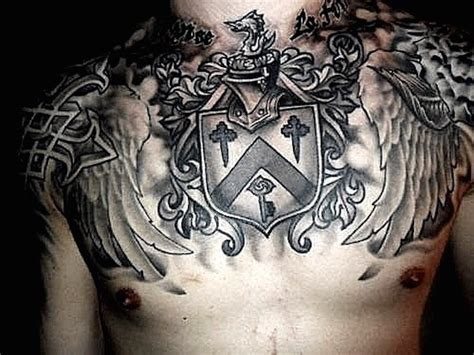 chest piece tattoo ideas for men top 144 chest tattoos for