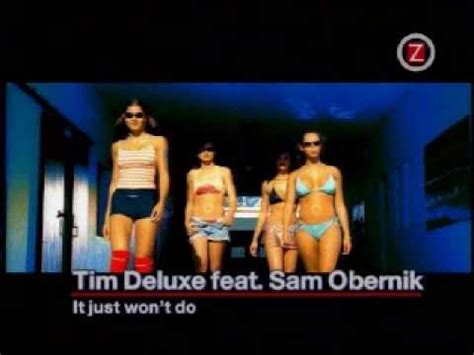 When An Envelope Just Wont Do by It Just Won T Do Feat Sam Obernik Tim Deluxe