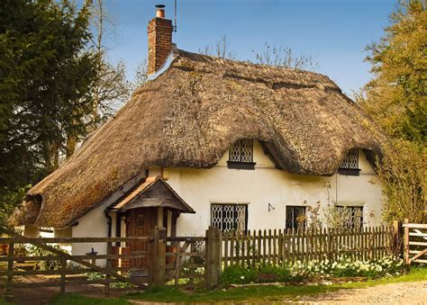 Thatched Cottages In by Thatched Cottage At Fullerton In Hshire Anguskirk Flickr