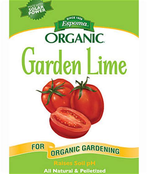 Organic Garden Lime Fertilizers At Burpee Com Lime For Vegetable Garden