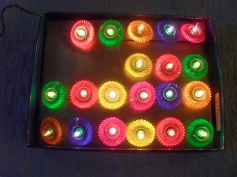 vintage christmas lights 20 pifco shimmer lights vintage