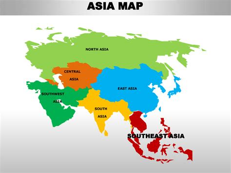 continent maps map asian continent heavy black