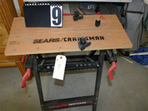 craftsman work benches sears craftsman adjustable work bench