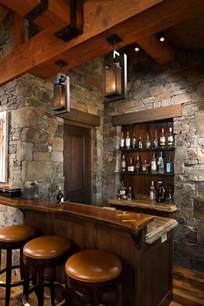 For Home Bar 16 Awe Inspiring Rustic Home Bars For An Unforgettable